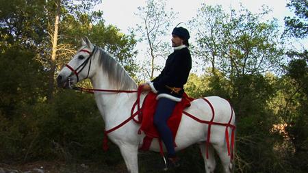 Guillem, cavall i punyal2