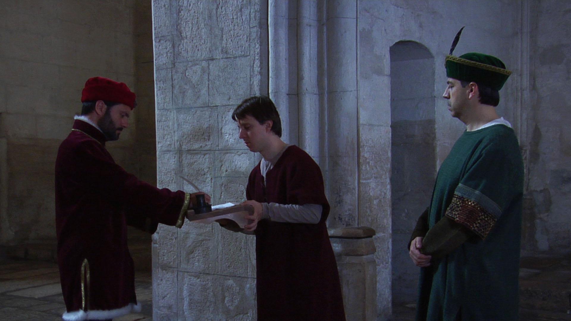 El rei firma la carta