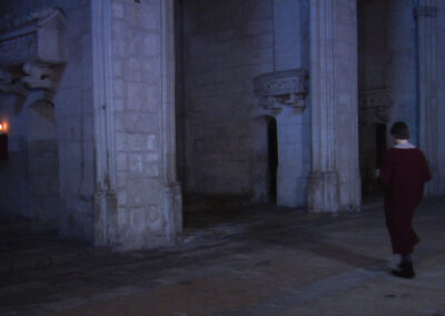 Església de Sant Francesc, matí del 25 de febrer de 1395