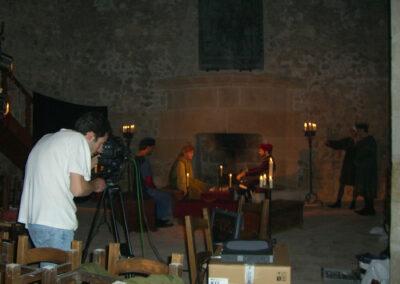 Rodatge al castell de Sant Martí Sarroca